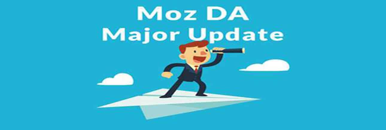 Aggiornamento di Moz sulla Domain Authority